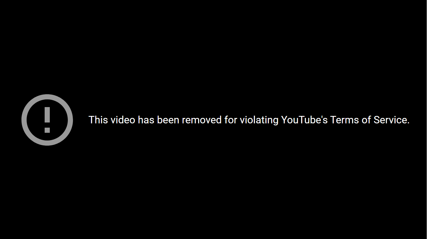 Removed for violating TOS