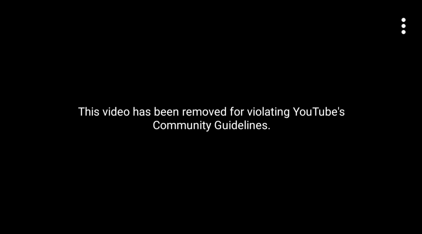 YouTube Censored This Video
